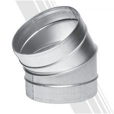 Отвод 30-125 для круглых воздуховодов