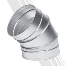 Вентиляционный отвод 45-150 для круглых воздуховодов