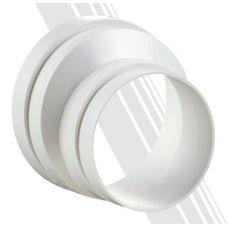 Редуктор ассиметричный для круглых воздуховодов 3128