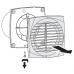 Вытяжной вентилятор Вентс 100 ДТ