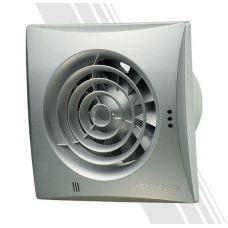 Вытяжной вентилятор Вентс 100 Квайт серый (алюминий мат)